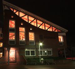 das Rathaus von Saterland