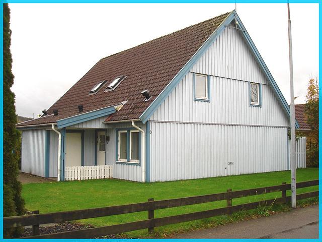Maison de Båstad's house- Sweden / Suède.  21 octobre 2008