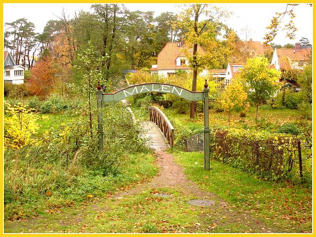 Mignon petit pont Malen / Malen bridge