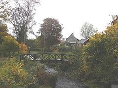 Petit pont Malen / Small Malen bridge - Båstad , Suède / Sweden.  Octobre 2008
