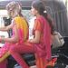 girls sur moto