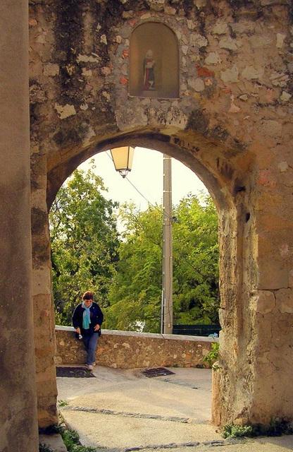 Le portalet: vieux village