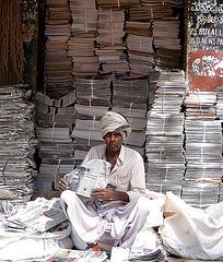 Newsprint recycling