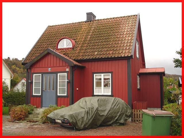 Typique ! Il faudra bien te couvrir.... Båstad. Suède.