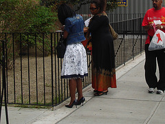 Harlem, New-York City / Gospel and high heels !  Gospel et Talons Hauts !