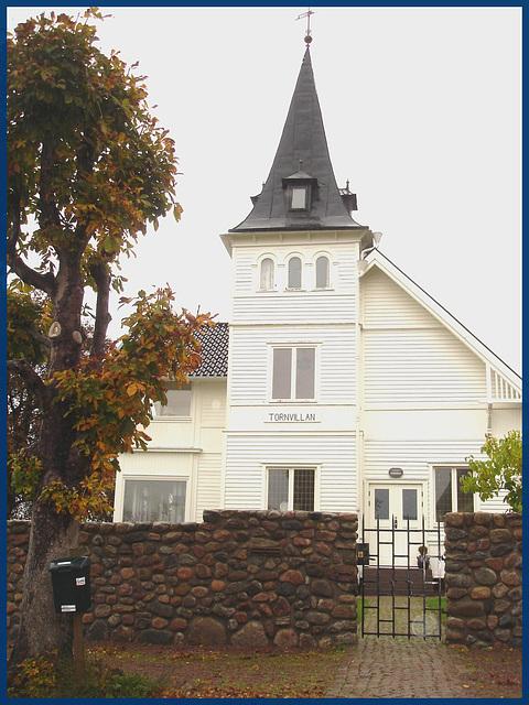 Tornvillan.  Båstad. Suède / Sweden - 21 octobre 2008.