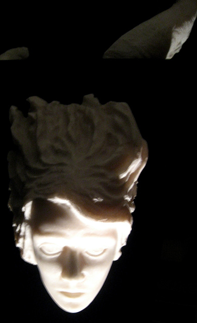 Judgement of Time - III, detail (sculpture)