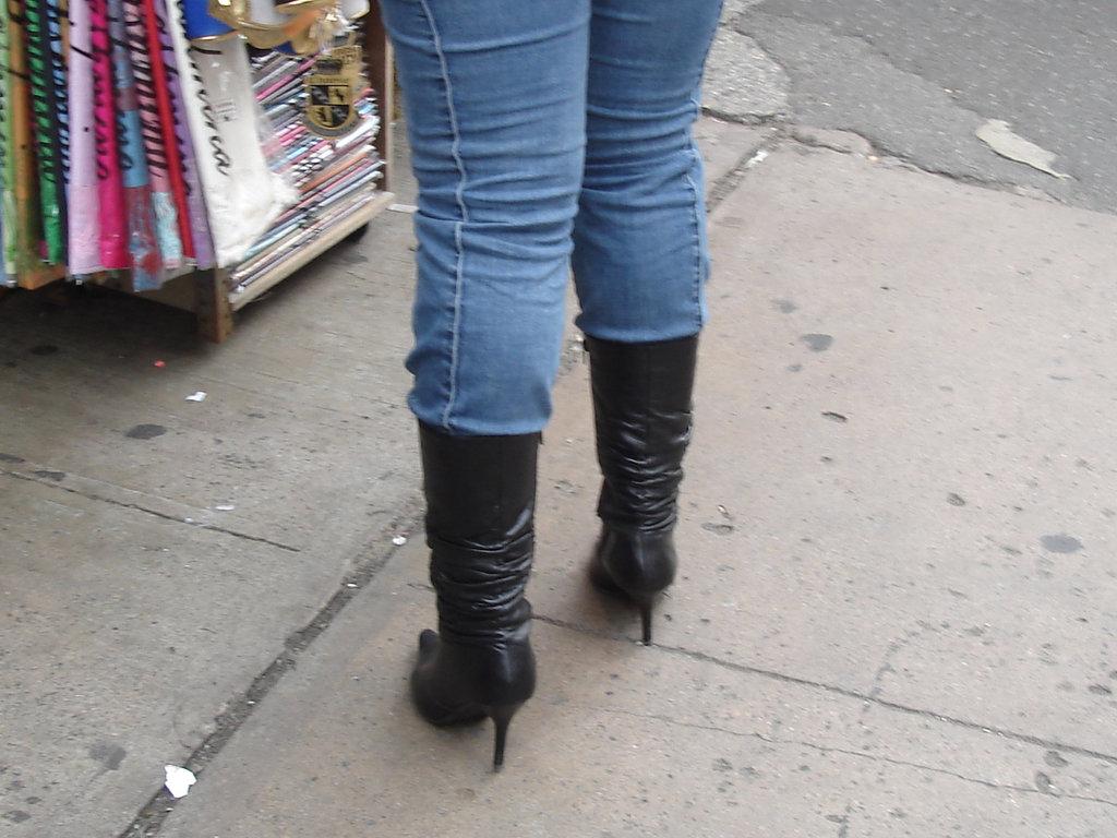 Désirs de soumisssion - Submissive desires on/ sur Canal street à New-York city- Juillet 2007