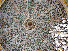 Floral cupola