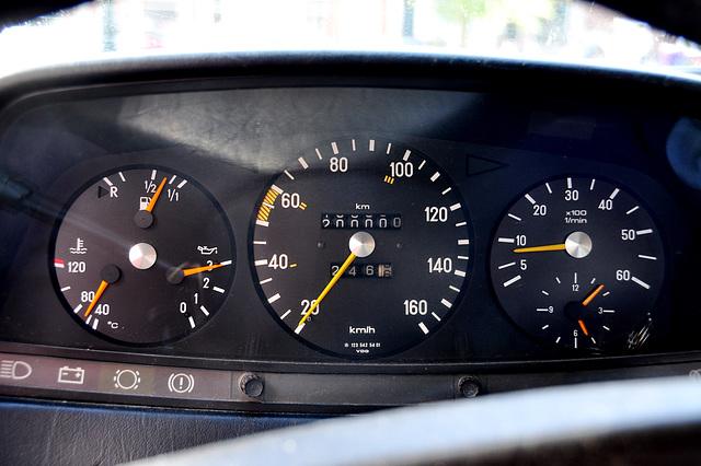 200,000 km on my Mercedes