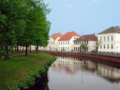 Oldenburg-Huntestr. im Mai
