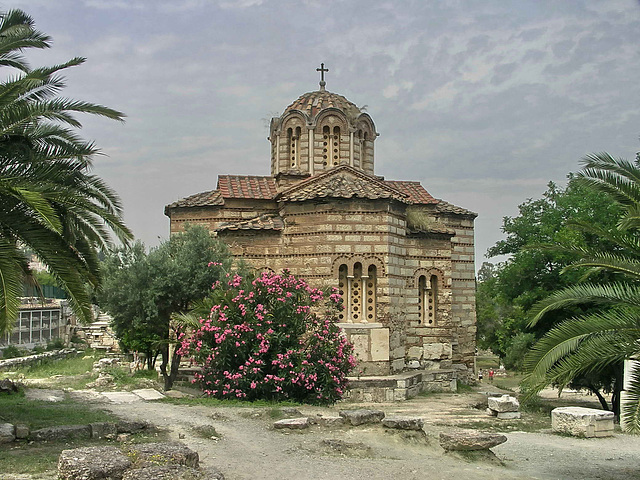 PICT16921ac Apse View of Holy Church of the Apostles Solaki 10th
