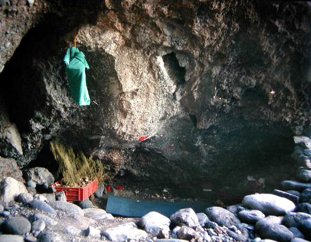 Höhlen-Schlafstätte