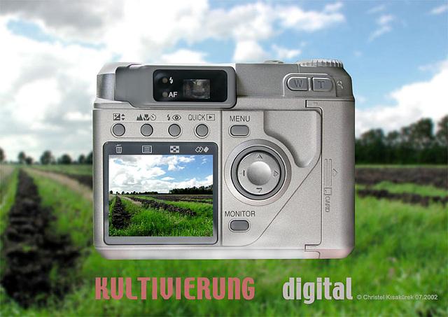 Kultivierung digital