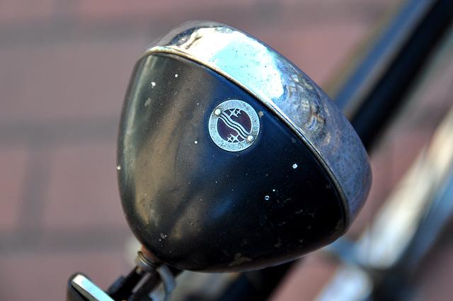Old Batavus bike – Philips headlight