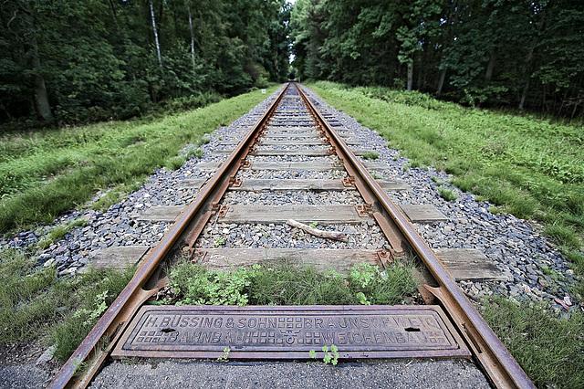 Bahnbau Weichenbau