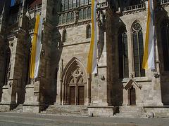 Seitenportal Regensburger Dom