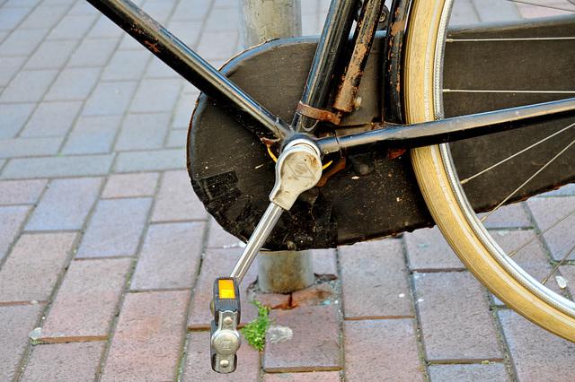 Old Batavus bike – crankcase