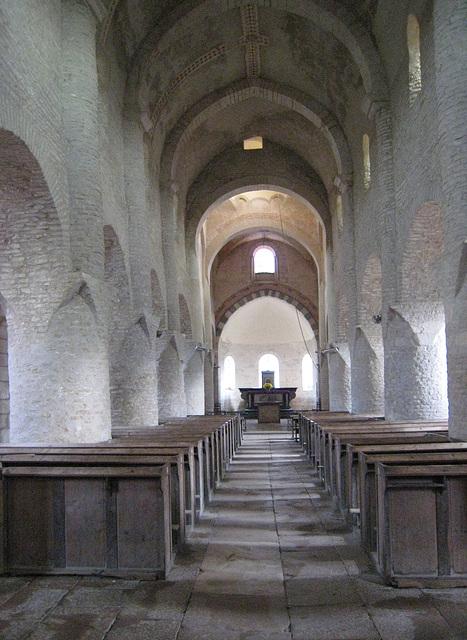 Eglise Saint Martin à Chapaise (71)