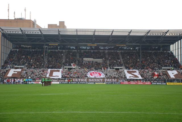 Südkurve beim Nürnbergspiel