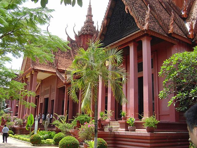 national museum, cambodia