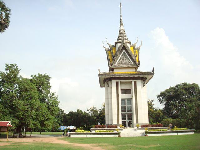 cheung ek memorial, phnom penh