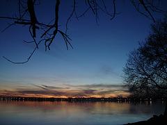Un couchant mémorable sur Venise en Québec / Bewildering sunset