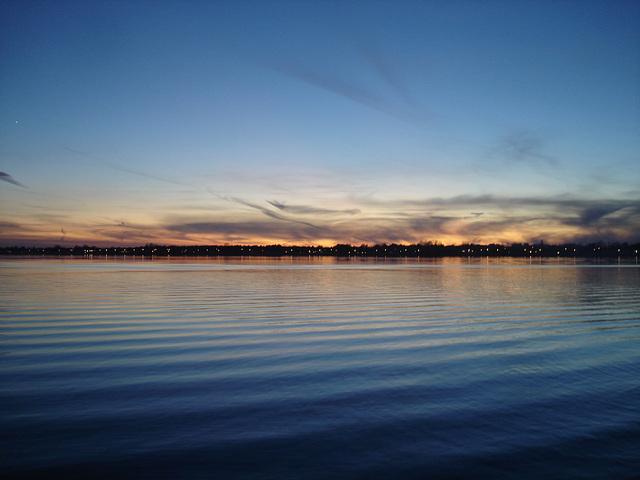 Coucher de soleil / Sunset - Venise en Québec, Québec - CANADA.