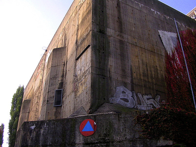 Bunker, built in the second World War