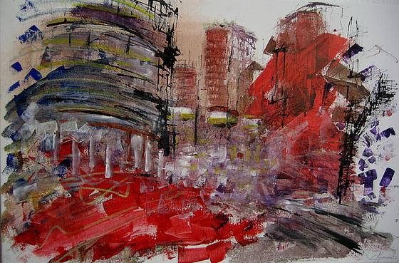 New York, Manhattan (painting)