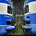 Blue Kiss........even trains do it