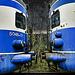 Blue Kiss........even trains do it