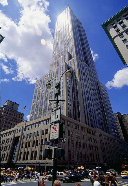 Empire State Building Full Height