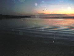 Coucher de soleil. Sunset - Venise en Québec, QC- CANADA-  2 Novembre 2008.