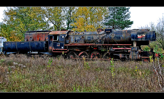 Yugoslavian Steam Locomotive