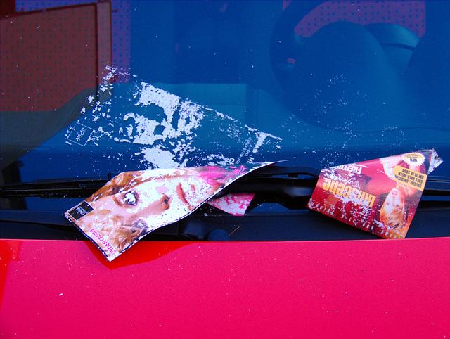 So sieht es aus, wenn man sein Auto ein Vierteljahrhundert lang irgendwo parkt. ;)