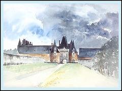 Château de la Motte-Glain, Loire atlantique