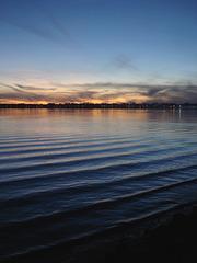 Coucher de soleil automnal / November sunset