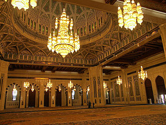 PICT21035ac Oman Muscat Sultan Qabbos Recent Mosque