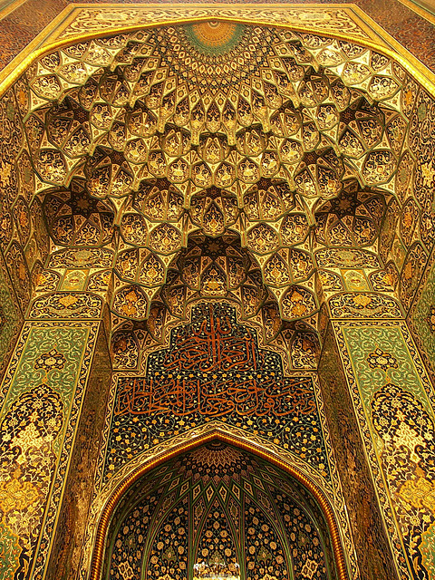 PICT21012ac Grand Prayer Hall Prodigious Mihrab Details
