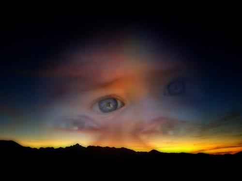 Paix galactique dans tes yeux d'enfant