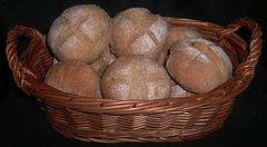Crunchy Wheat Rolls