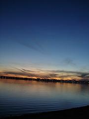 Coucher de soleil / Sunset - Venise en Québec, QC- CANADA-  2 Novembre 2008.