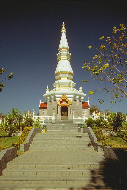 The Royal Temple Stupa in the complex
