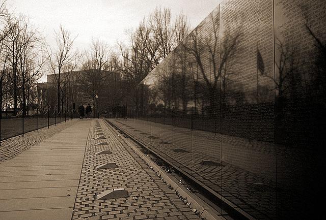 Vietnam Memorial & Lincoln Memorial