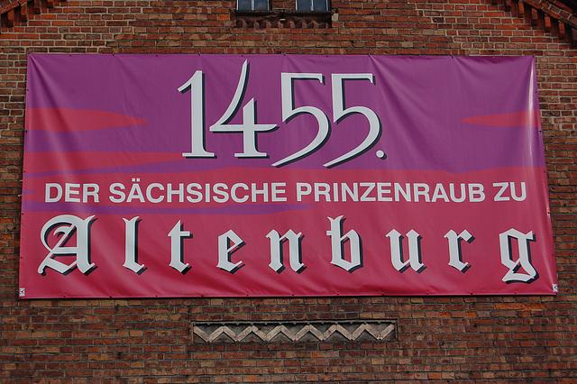 La saksa princida rabo en Altenburg - nun kiel teatraĵo