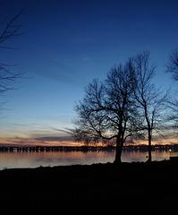 Dreamy sunset / Un couchant à faire rêver.....