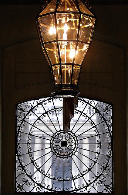Light, window ,and columns