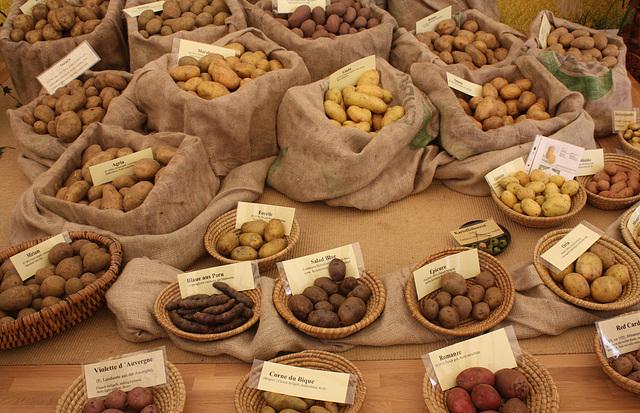 vorwiegend Kartoffeln
