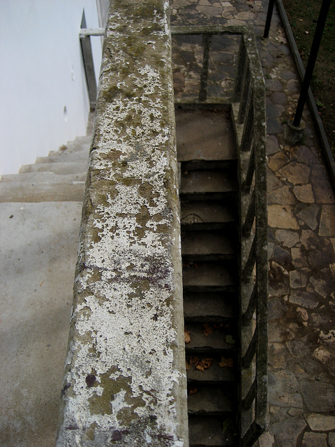 Hunting Ground of Mafra, old staircase (7)